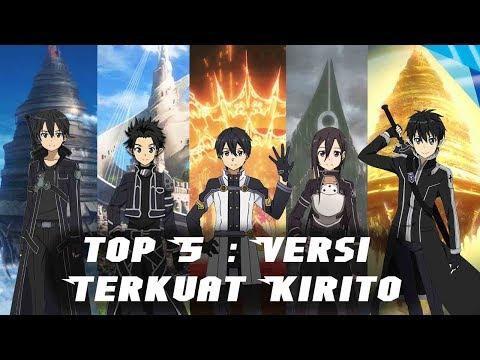 Top 5 KIRITO Sword Art Online (bahasa Indonesia)