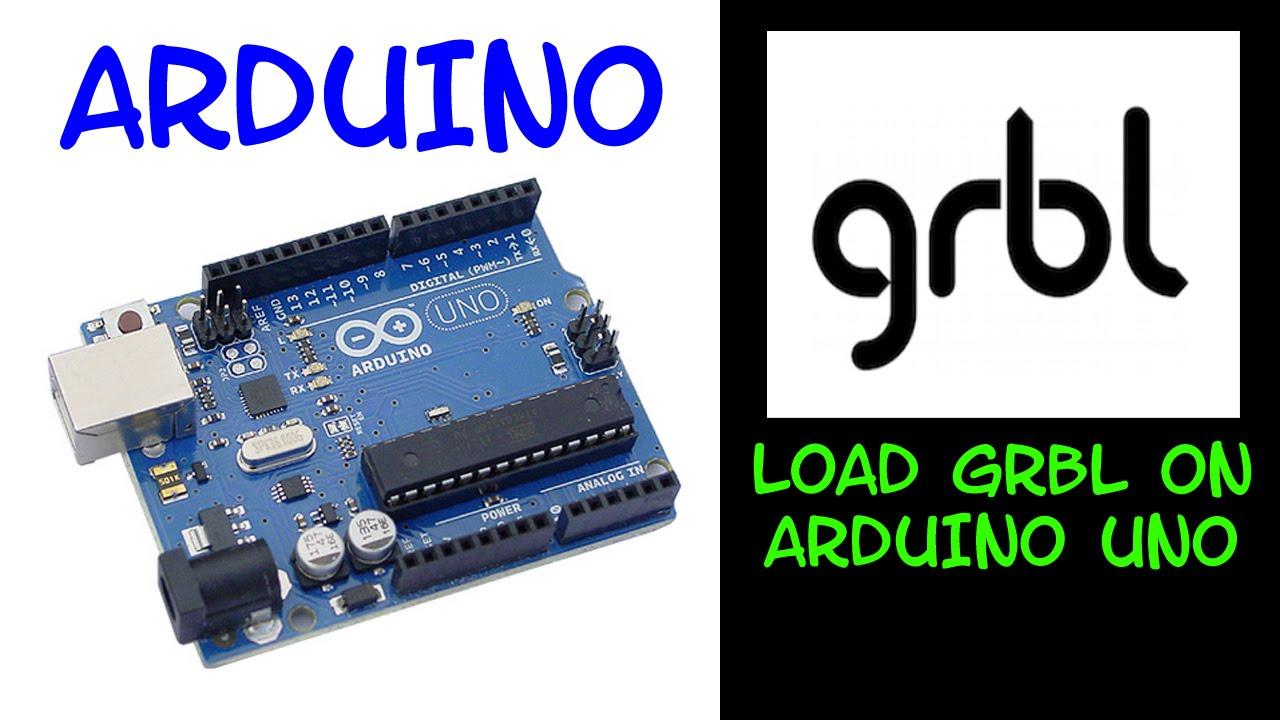 Arduino grbl installation youtube