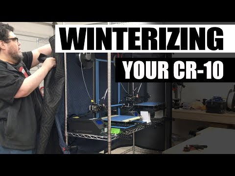 Winterizing your CR-10 with a little help from Harbor Freight