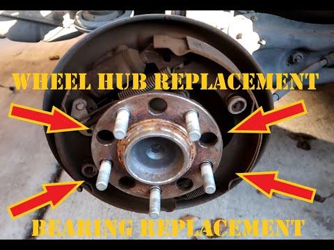 DIY: Chrysler Sebring Rear Wheel Bearing Wheel Hub Replacement