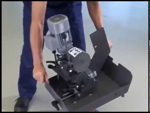 Grit GXC Centerless Grinding Attachment for the GX75 Belt Grinder @ Trick-Tools