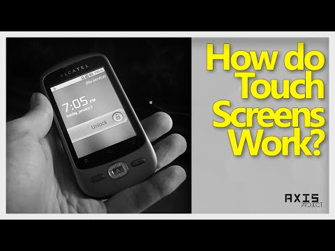 How Capacitive And Resisitive Touch Screen Work