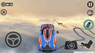 Impossible Car Tracks 3D: Blue Car Driving Levels 14 and 15 Completed - Android GamePlay 2019