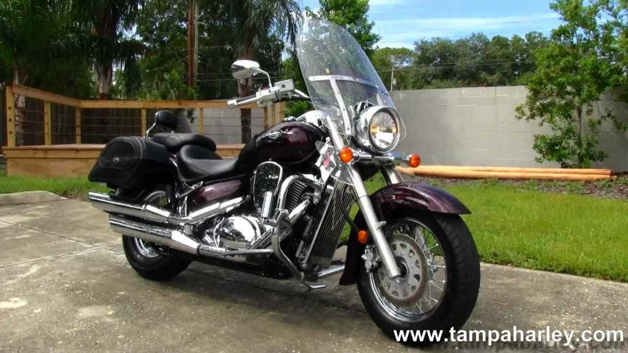used 2009 suzuki boulevard c50 motorcycle for sale youtube. Black Bedroom Furniture Sets. Home Design Ideas