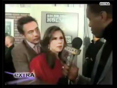 """Can't Quit on You Baby"" - Robert Downey Jr & Susan Downey at Sherlock Holmes Premiere"
