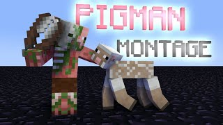 BEST PIGMAN MONTAGE - MONSTER SCHOOL - MINECRAFT ANIMATION