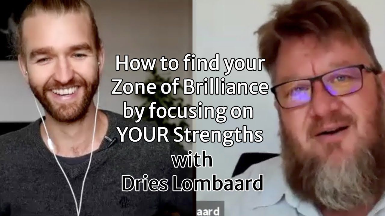 Interview with Dries Lombaard on Strengths - Part 1