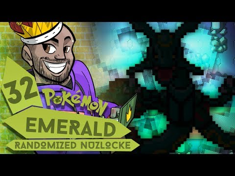 """RAYQUAZA IS WHAT?!"" Pokémon Emerald REALLY Randomized Nuzlocke Ep 32 w/ TheKingNappy!"