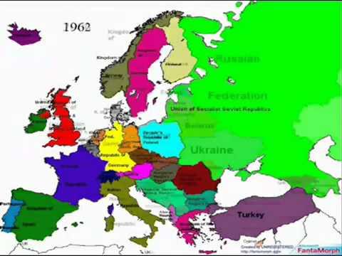 karta evrope 2050 Europa 1800 2050   YouTube karta evrope 2050
