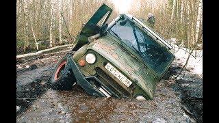 видео: Очень жесткий маршрут.Бросили машину в лесу / off-road extreme