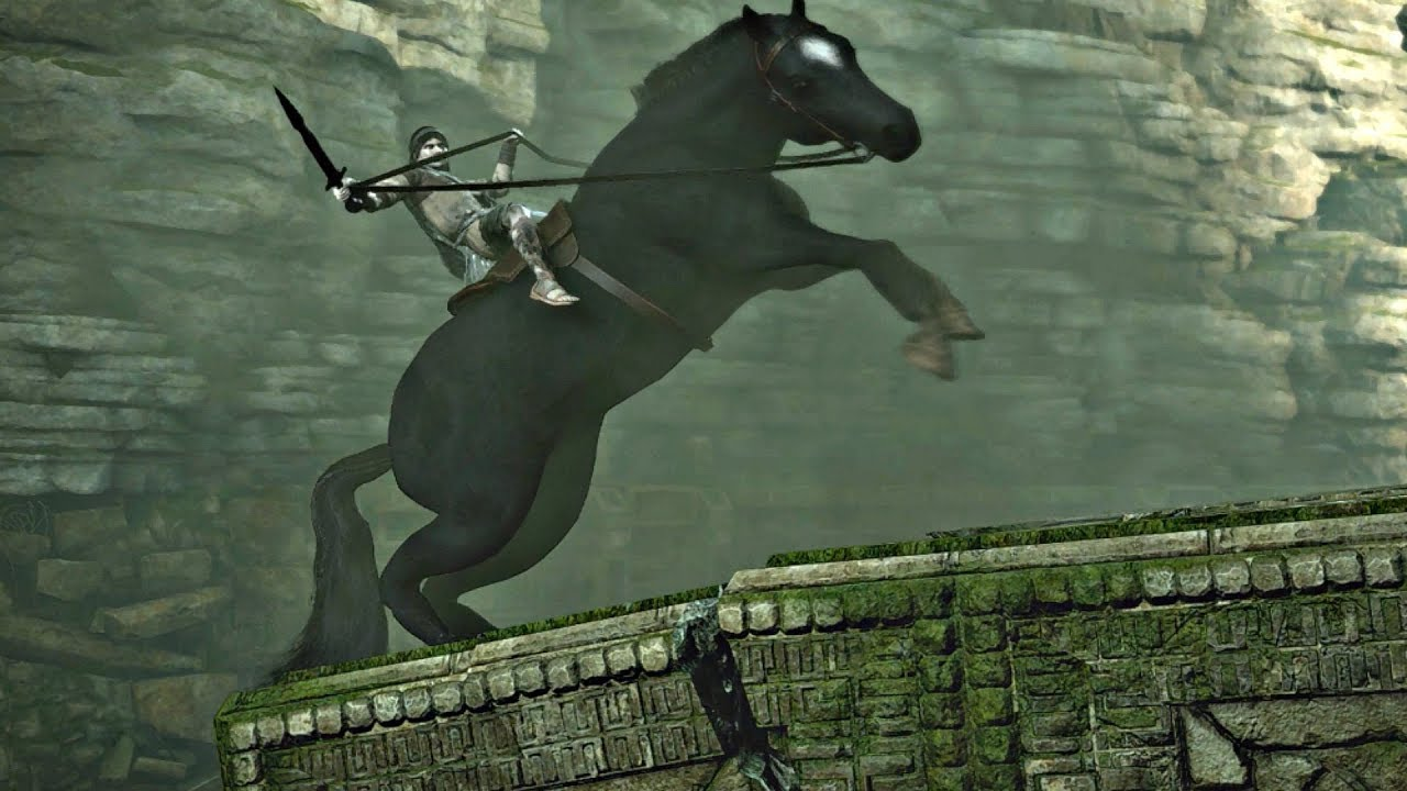 Shadow of The Colossus PS4 - Agro Falls Cutscene - YouTube