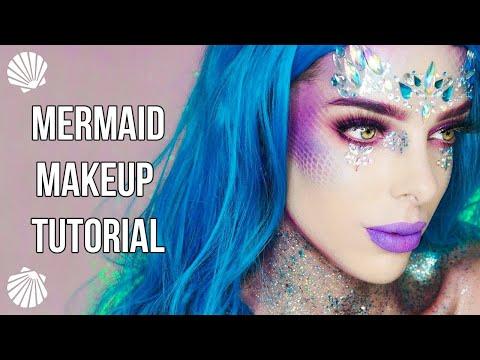 Mermaid Makeup Tutorial - Easy Halloween Look - Cruelty Free Products | Jolie Beauty