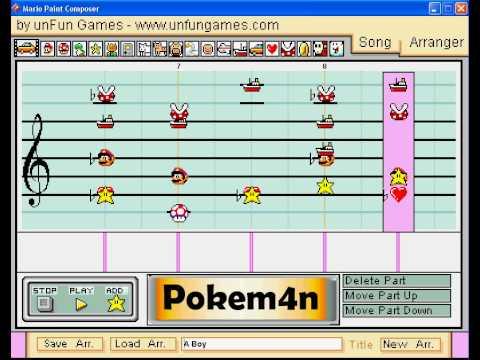 Mario Paint Composer - A Boy (G Dragon)