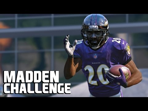 Can Ed Reed Get One Final Pick Six? - Madden NFL Challenge