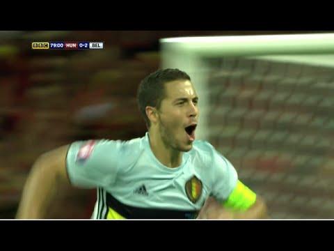 Eden Hazard All Goals & Assists - Euro 2016