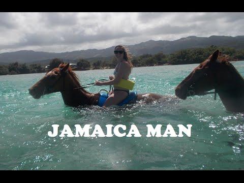 JAMAICAN HORSEBACK SWIM + DUNNS RIVER FALLS