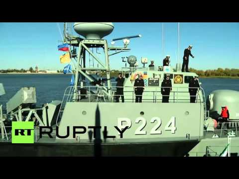 Russia: Iranian warships join Caspian flotilla at Astrakhan port