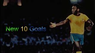 Pelé ● New Footages 12 ● New 10 Goals