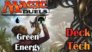 magic duels   green energy deck tech