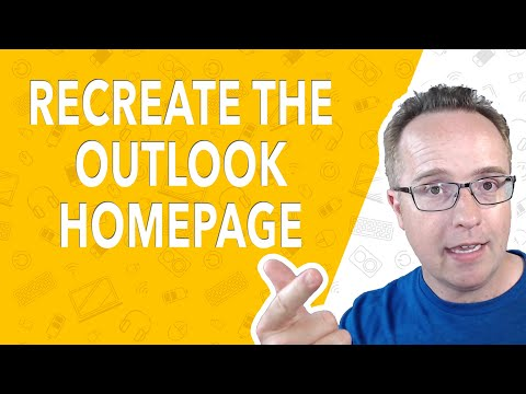 Elementor Pro Tutorial: How To Recreate The Outlook.com Homepage [NEW] thumbnail