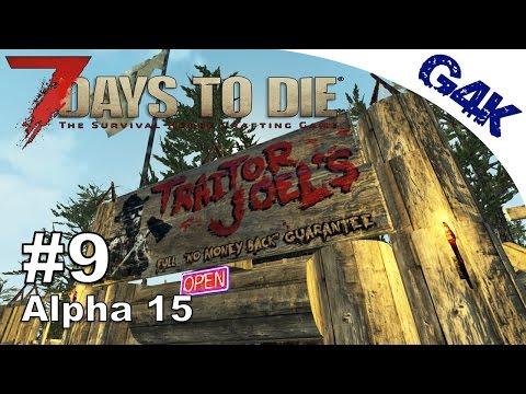 7 Days To Die | Trader Traitor Joel | 7 Days to Die Gameplay Alpha 15 | S07E09
