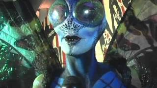 heidi klum attends 15th annual halloween party as a butterfly
