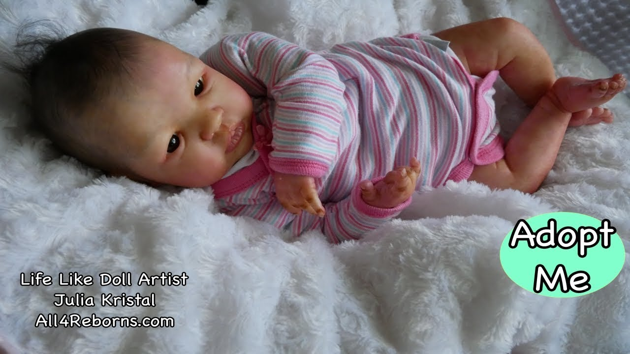 """Reborn Baby Doll """"Knowles"""" - New Baby Girl for Adoption ..."""