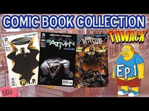Comic Book Collection Ep.1   New 52 Batman Comics