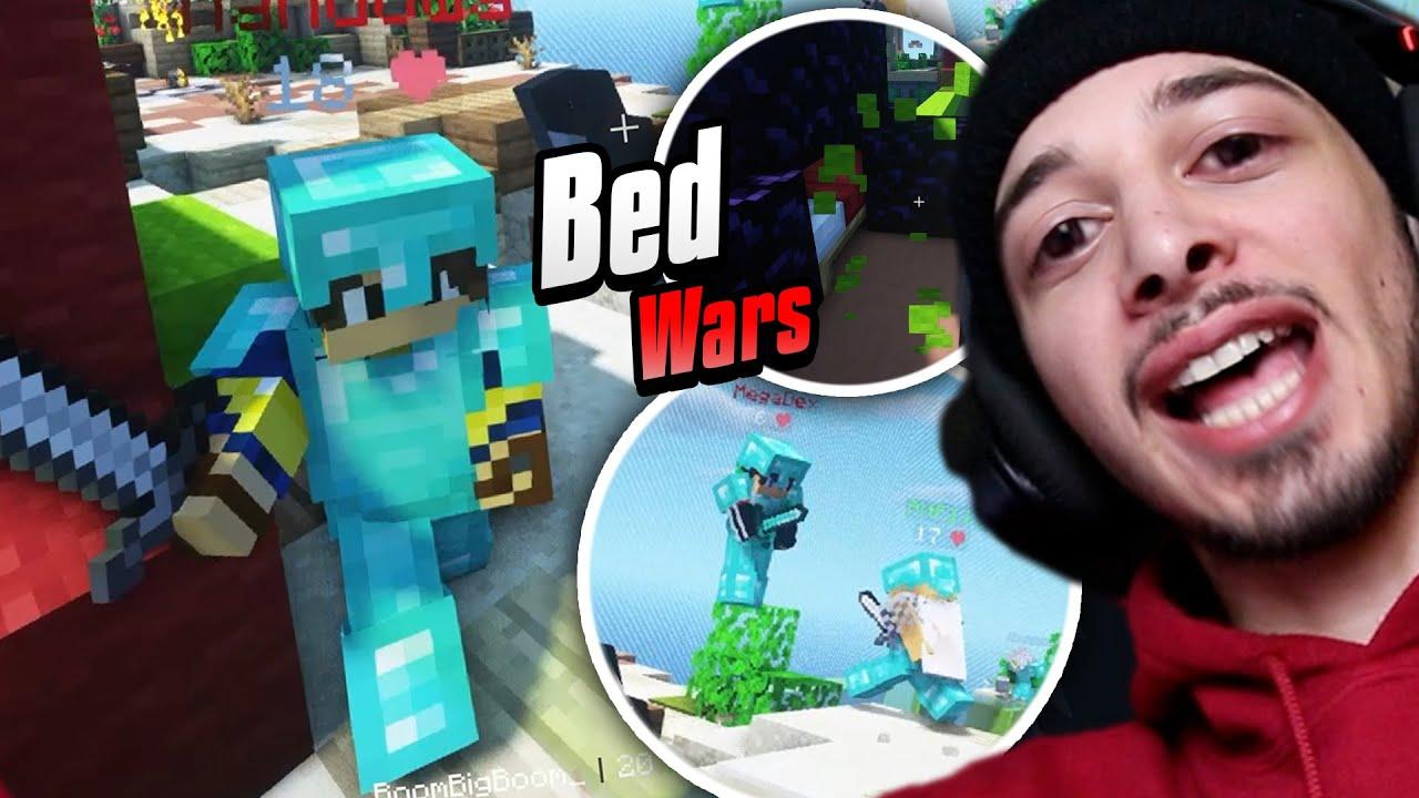 ტრიო მანდილმა ჩეთერებს მოუგო?! | Bed Wars TRIO [MINECRAFT]