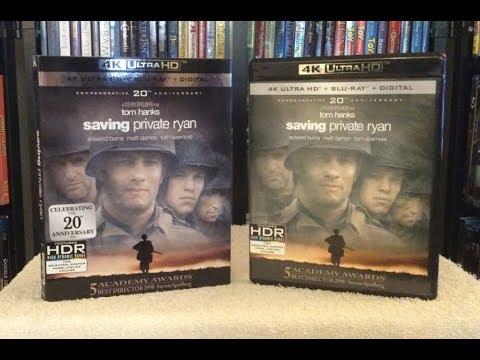 Saving Private Ryan 4K BLU RAY   Unboxing
