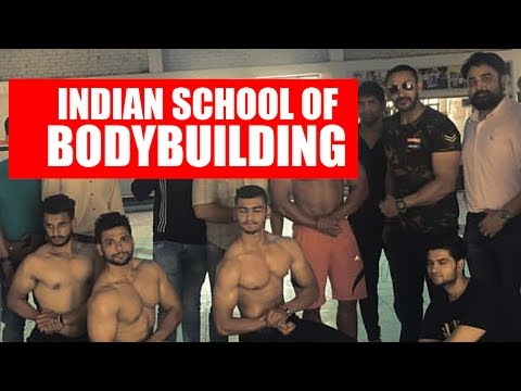 Indian school of bodybuilding- Natural 18 year olds