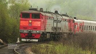 Züge auf der Insel Sachalin - ehemaliges Sperrgebiet im äußersten Osten Russlands