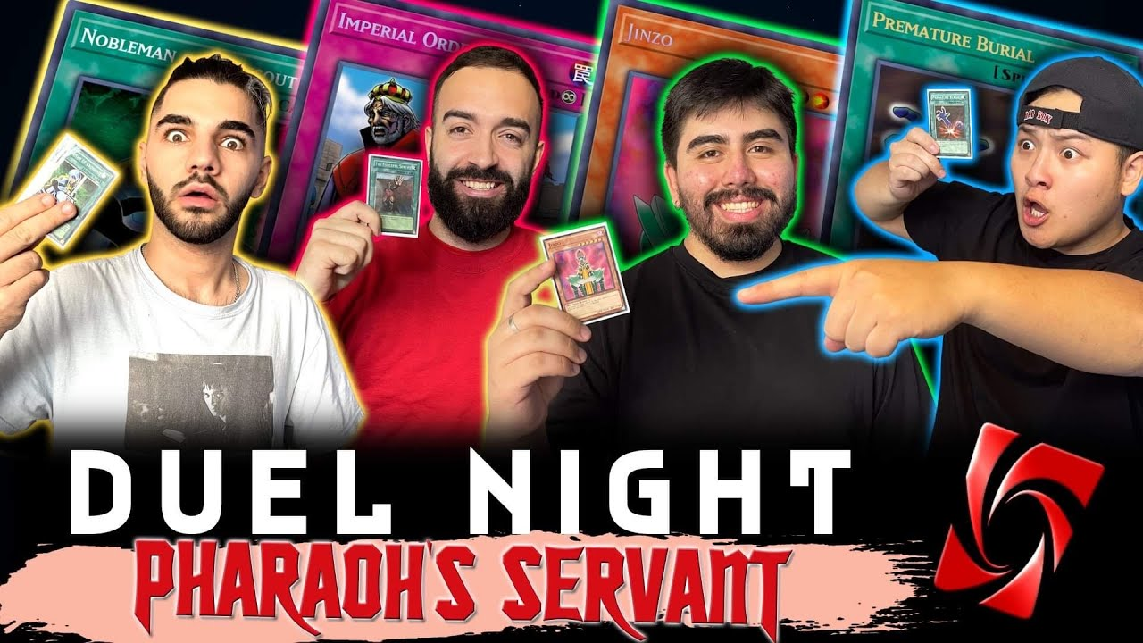Download JUDGMENT OF THE PHARAOH! | Pharaoh's Servant | Duel Night #4 | Yu-Gi-Oh! Duel Gameplay