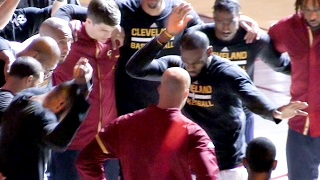 The Story behind the Cavs' elaborate pregame handshakes