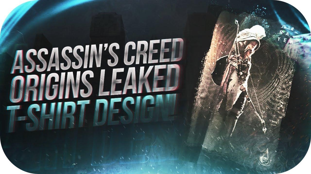 Shirt design reddit - Assassin S Creed Origins Leaked Main Character Design Ac Origins T Shirt Design Leaked On Reddit