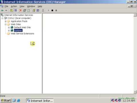 internet information server 2003: