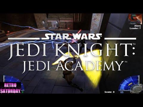 Star Wars Jedi Knight: Jedi Academy Gameplay (Retro Saturday) |