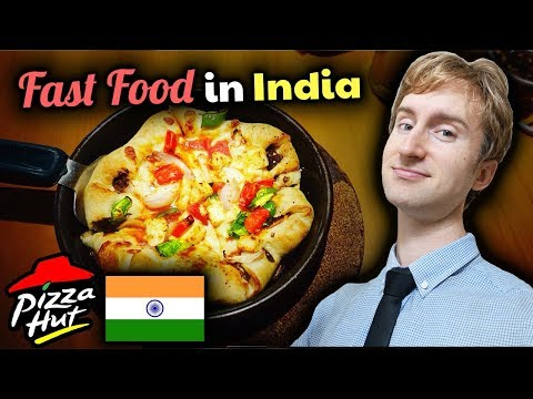 Pizza Hut in India Has Delicious INDIAN PIZZA!