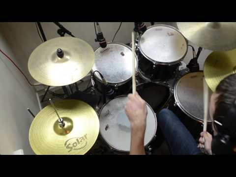Drum Cover - Little Drummer Boy - Rock Version - Matt Cooper