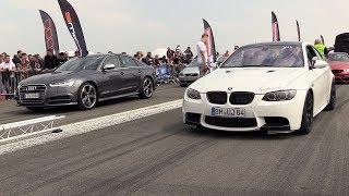 680HP BMW M3 E92 G-POWER vs Audi S6