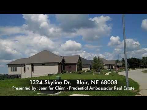 Omaha Real Estate - Home for Sale! 1324 Skyline Dr  Blair, NE 68008