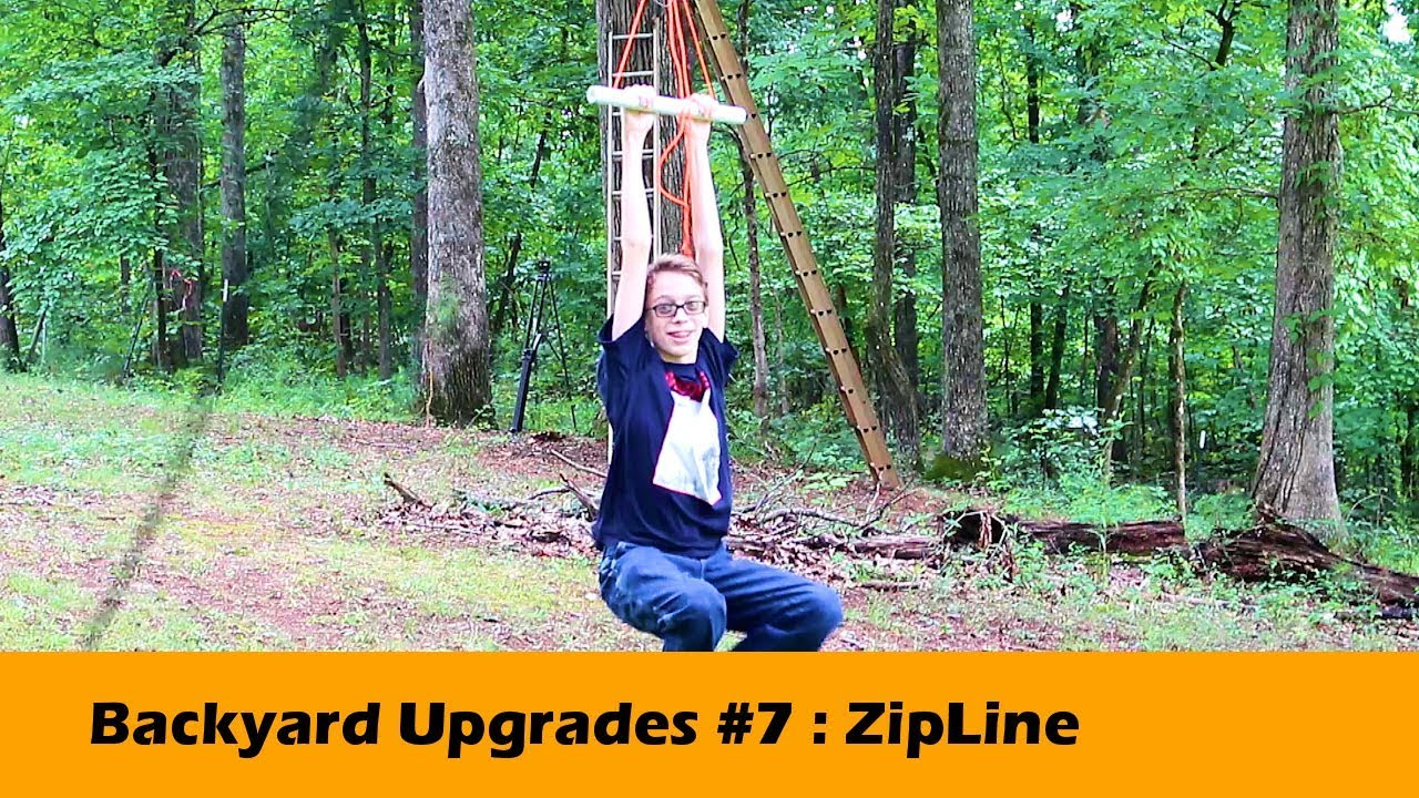 #zipline #diy #homemade