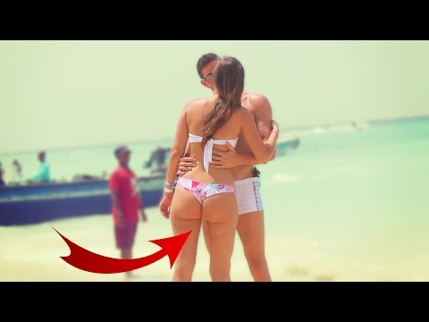 KISSING GIRLS in BIKINI! Social Experiment