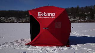 видео Зимняя палатка Eskimo Quickfish 6