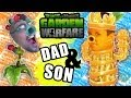 Dad & Son play Plants Vs. Zombies but Mother Nature Hates Garden Warfare!
