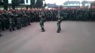 Yel-yel TNI AD.. Bikin Merinding!!!!