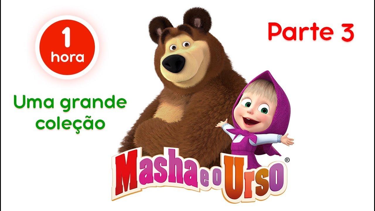 Masha eo Urso – Uma grande coleção de desenhos animados ????????(Parte 3)