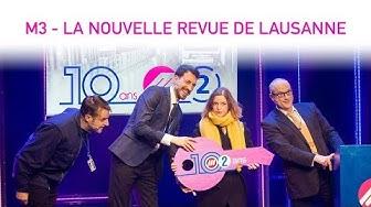 M3 | La Nouvelle Revue de Lausanne 2018 | RTS