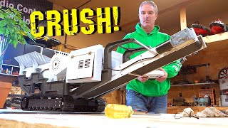 YouTube GOLD 2019 - MOBiLE MiNi ROCK CRUSHER! Build & Pulverize Rocks for FIRST TIME | RC ADVENTURES