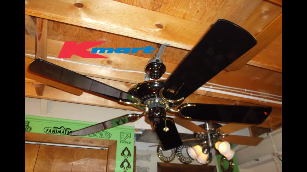 Kmart Deluxe Ceiling Fan Hd Remake Youtube